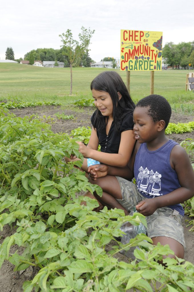 Community Garden Kids CHEP