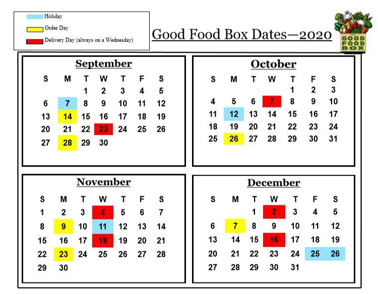 Good Food Box Has Returned!