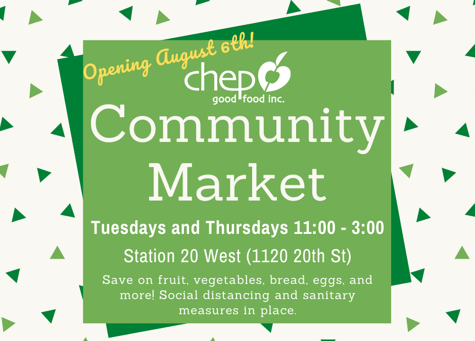 Community Markets Return!