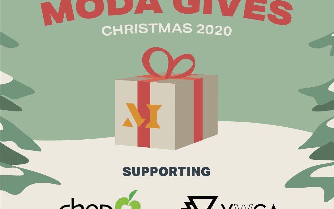 Moda Gives Christmas Food Drive