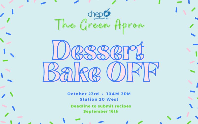 The Green Apron Dessert Bake Off